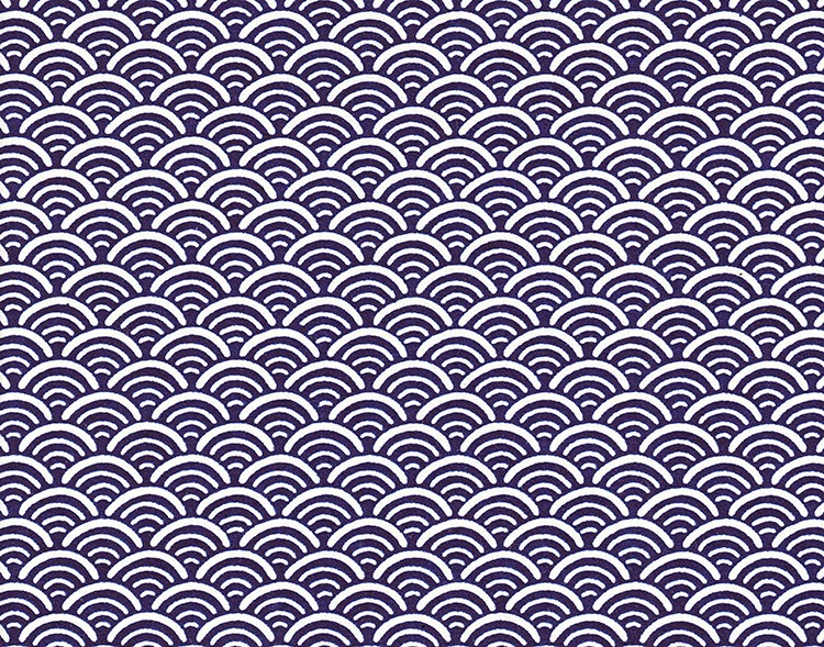 Prien Japanese Patterns Seigaiha