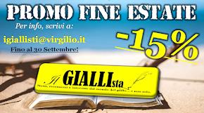 Promuovi il TUO LIBRO sul prossimo numero de IL GIALLISTA MAGAZINE