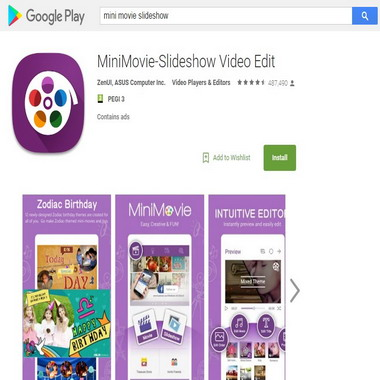 play google com - mini movie slideshow
