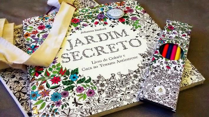 """fotos do livro jardim secreto : fotos do livro jardim secreto:Sociedade do Livro: Livro de colorir """"Jardim Secreto"""" é um detox pra"""