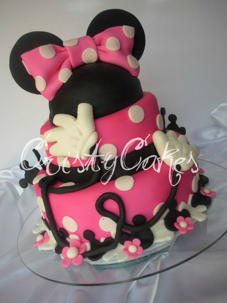 Minnie Mouse En Fucsia