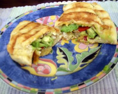 La Gringa's stuffed naan empanadas
