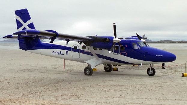 Twin Otter Spotter Loganair Wins Pso Contract N223al