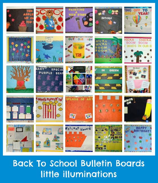 Little Illuminations: Back To School Bulletin Boards...Redux