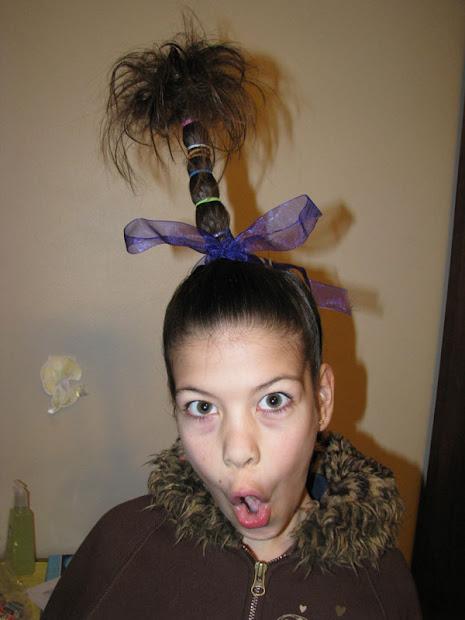 hunyville happenings crazy hair