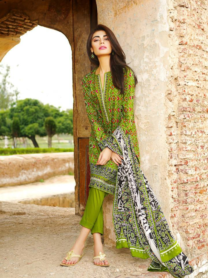 Fashion Freak Khaadi Eid Lawn Collection 2015 For Women
