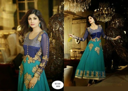 Anarkali Collection 2015 by Shilpa Shetty