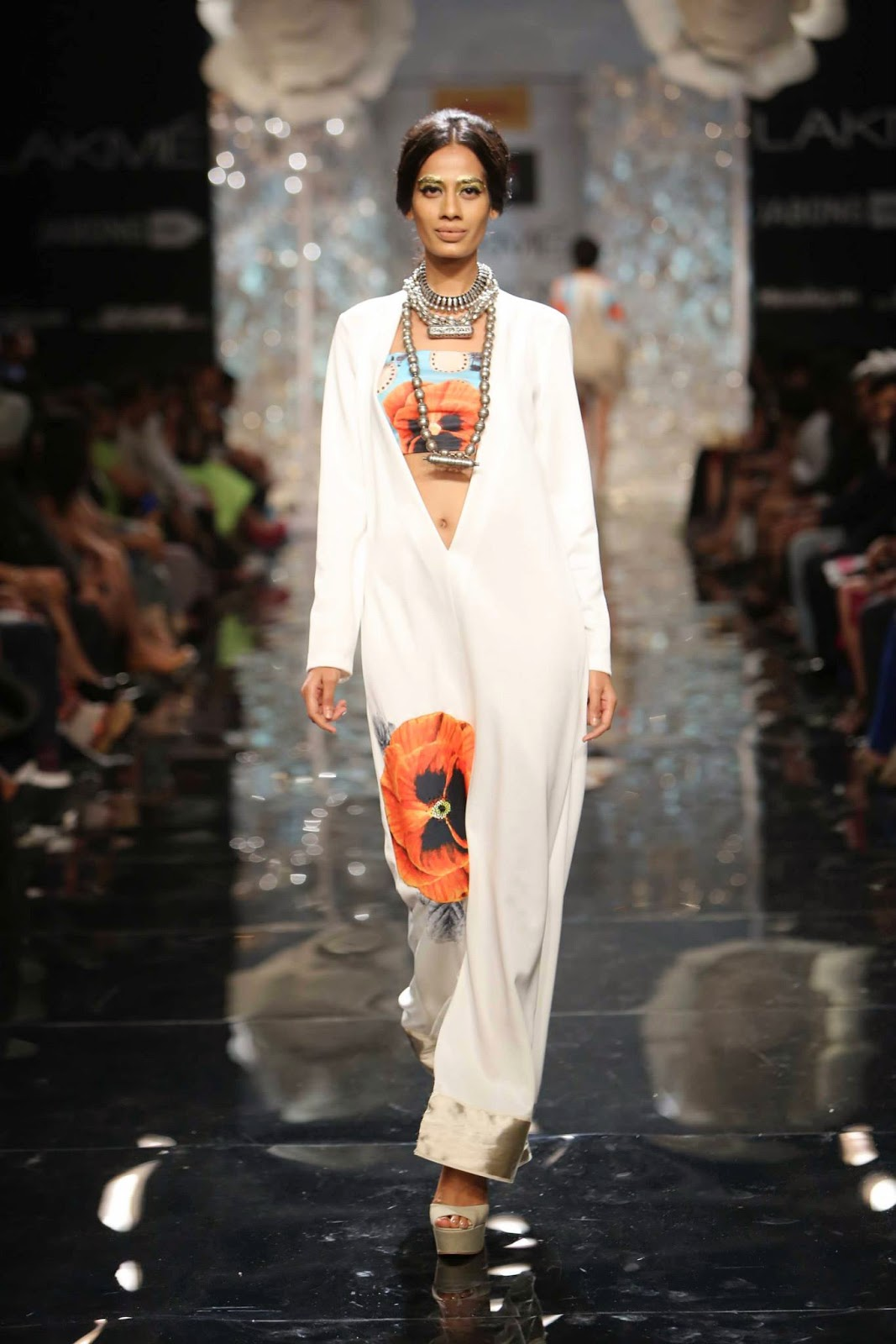 Masaba Gupta's Collection on Day 0 of the Lakme Fashion Week Winter Festive 2014