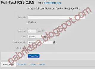Cara Membuat Autoblog dengan Full Feed RSS