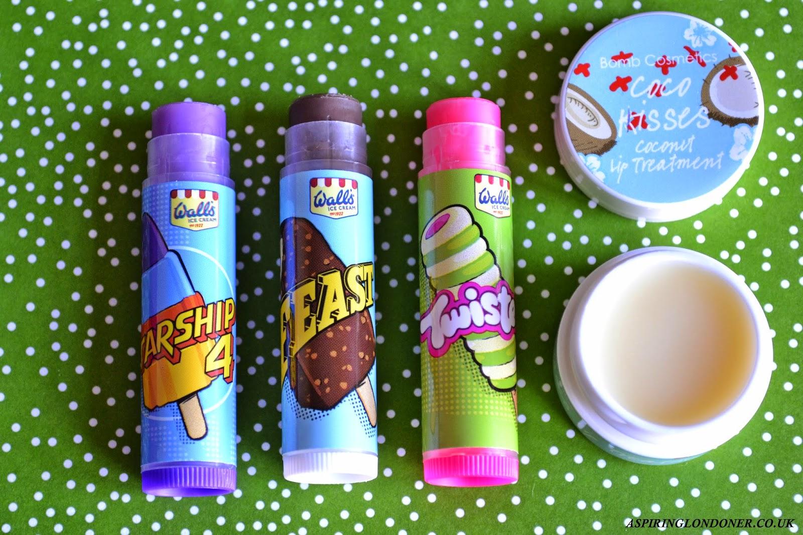 Lip Balms ft Bomb Cosmetics & Lip Smackers - Aspiring Londoner