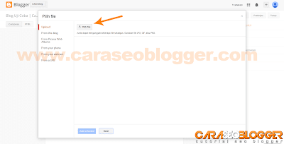 Cara Posting di Blog Blogger / Blogspot - 2