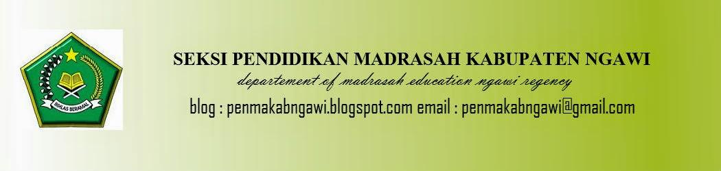 PENDIDIKAN MADRASAH NGAWI