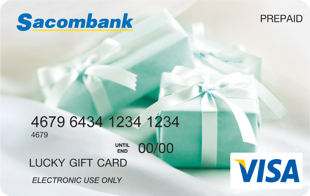 Thẻ TRUSTCARD ngân hàng Sacombank