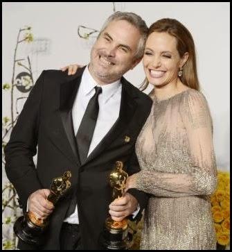 Alfonso Cuarón, mejor director, y Angelina Jolie, Oscar humanitario, Oscar 2014