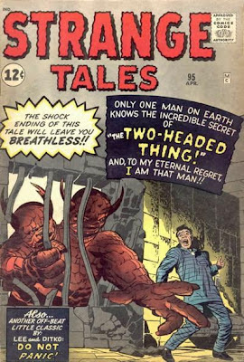 Strange Tales, the Two-Headed Thing