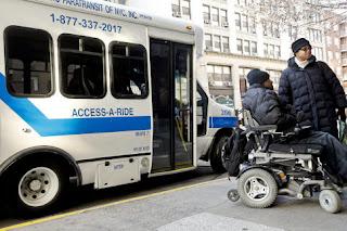 Servicio de paratránsito en Nueva York