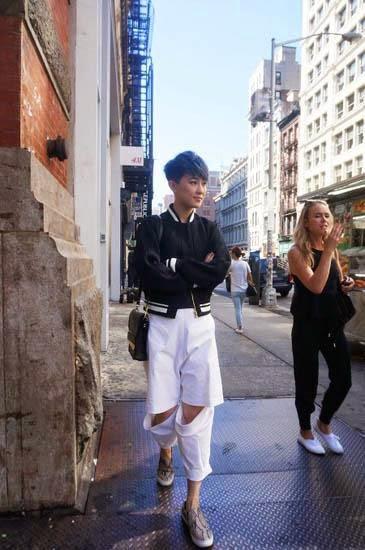 Jade Liu handsome styling