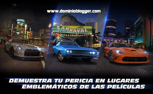 Descarga el juego oficial de Fast & Furious: Legado gratis para Android
