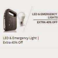 Buy Emergency Lights Extra upto 41% cashback at PayTm Offer