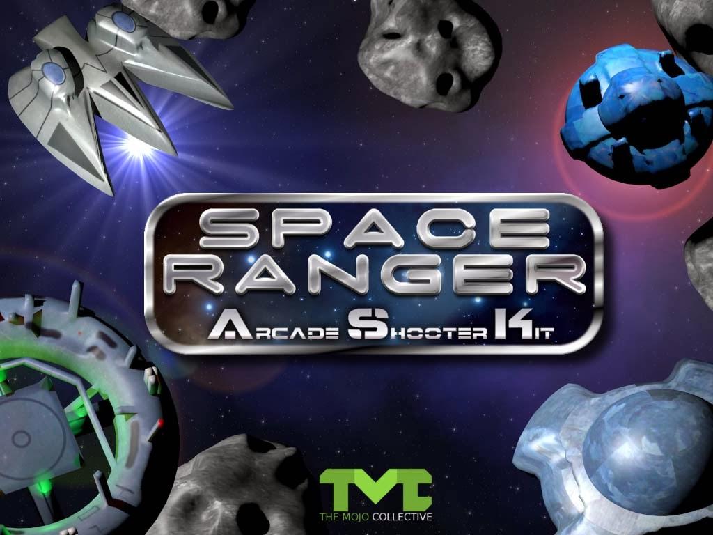 Space Ranger Arcade Shooter Kit