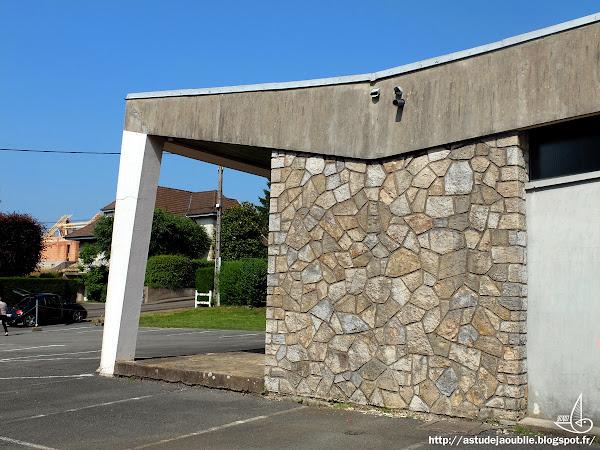 Courcelles-lès-Montbéliard - Chapelle  Architecte: Jacques Mattern  Construction: 1960