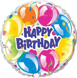 big balloon Happy Birthday