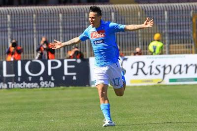 Lecce Napoli 0-2 highlights