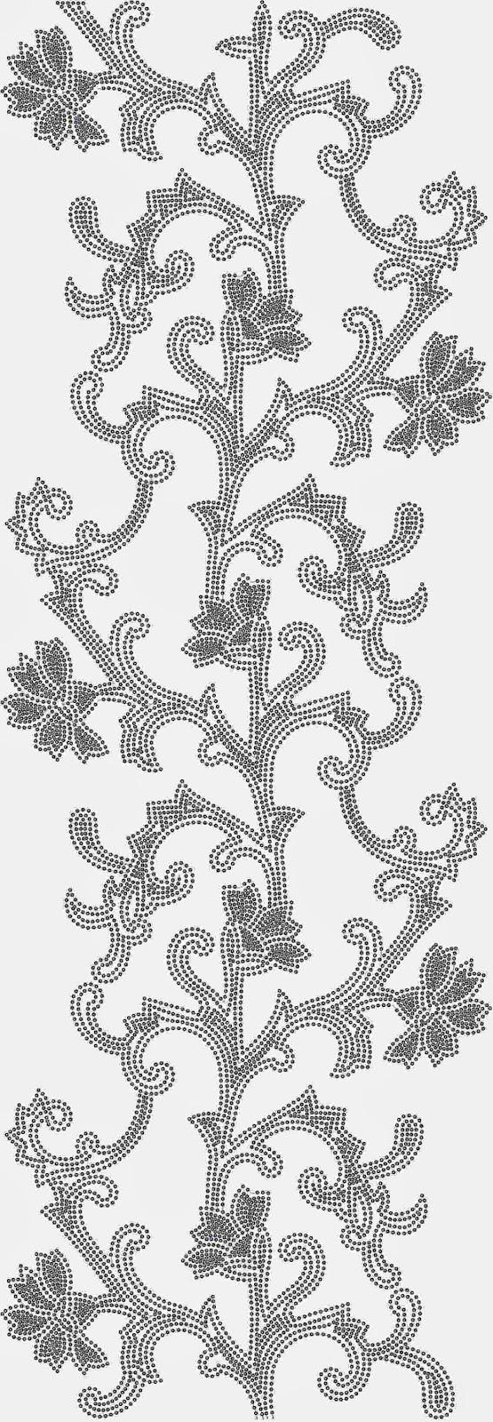 Bernina kultuur borduurwerk Oral patroon