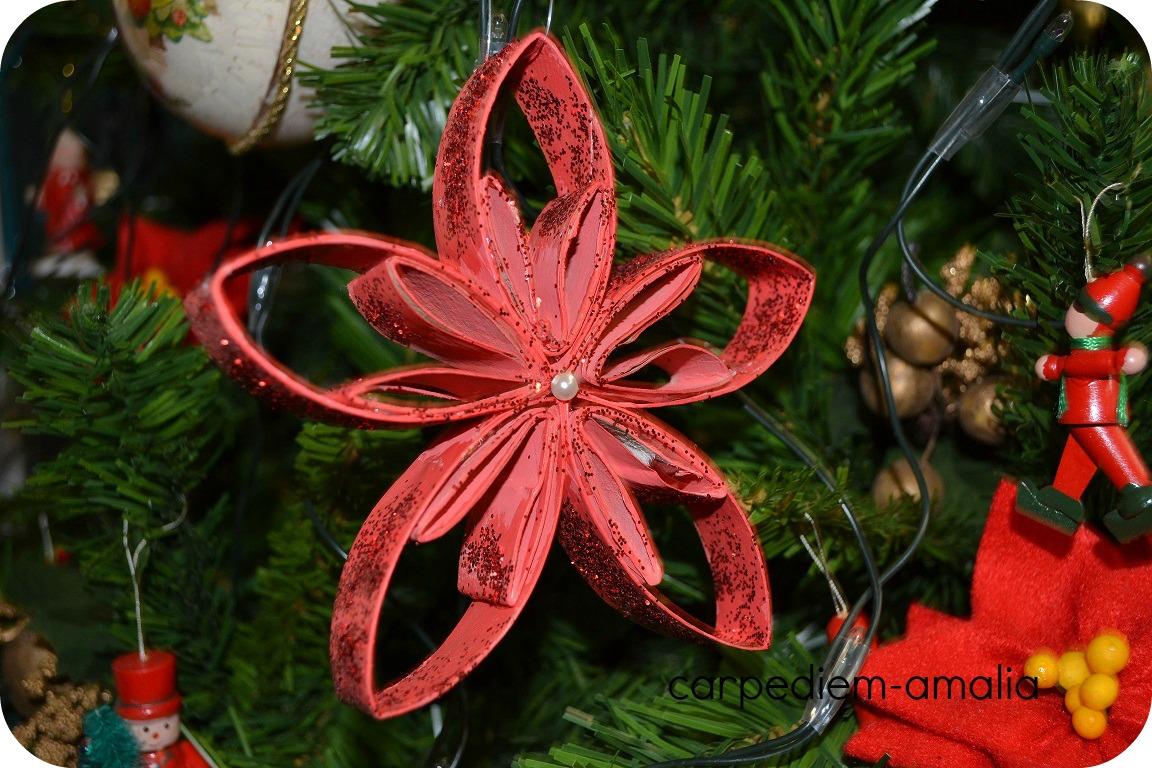 Amato Carpe diem: Riciclare la carta igienica: stella natalizia LF17
