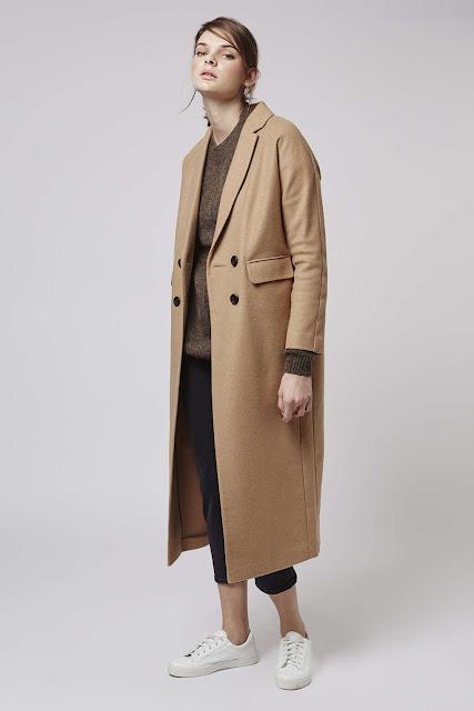 topshop camel coat. oversized camel coat,