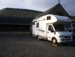 Day 8: 28th April 2011. Drumnadrochit Campsite. (Stable Yard)