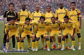 SKUAD SRIWIJAYA FC 2008 - 2009