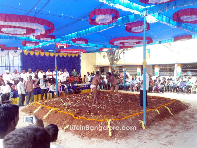 Agara Bangalore Wrestling Kushti Photo Gallery