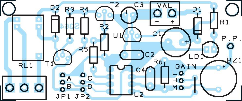 D tecteur de proximit pour commander un interrupteur montage sch ma lectronique et - Schema d implantation electrique ...