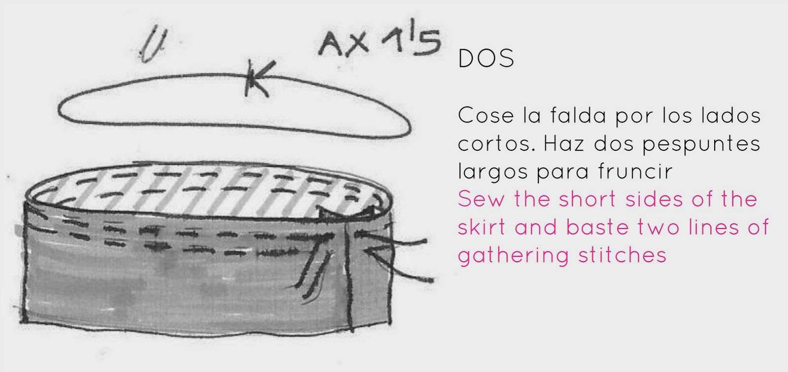 la inglesita: TUTORIAL leggings con falda :: Peplum leggings