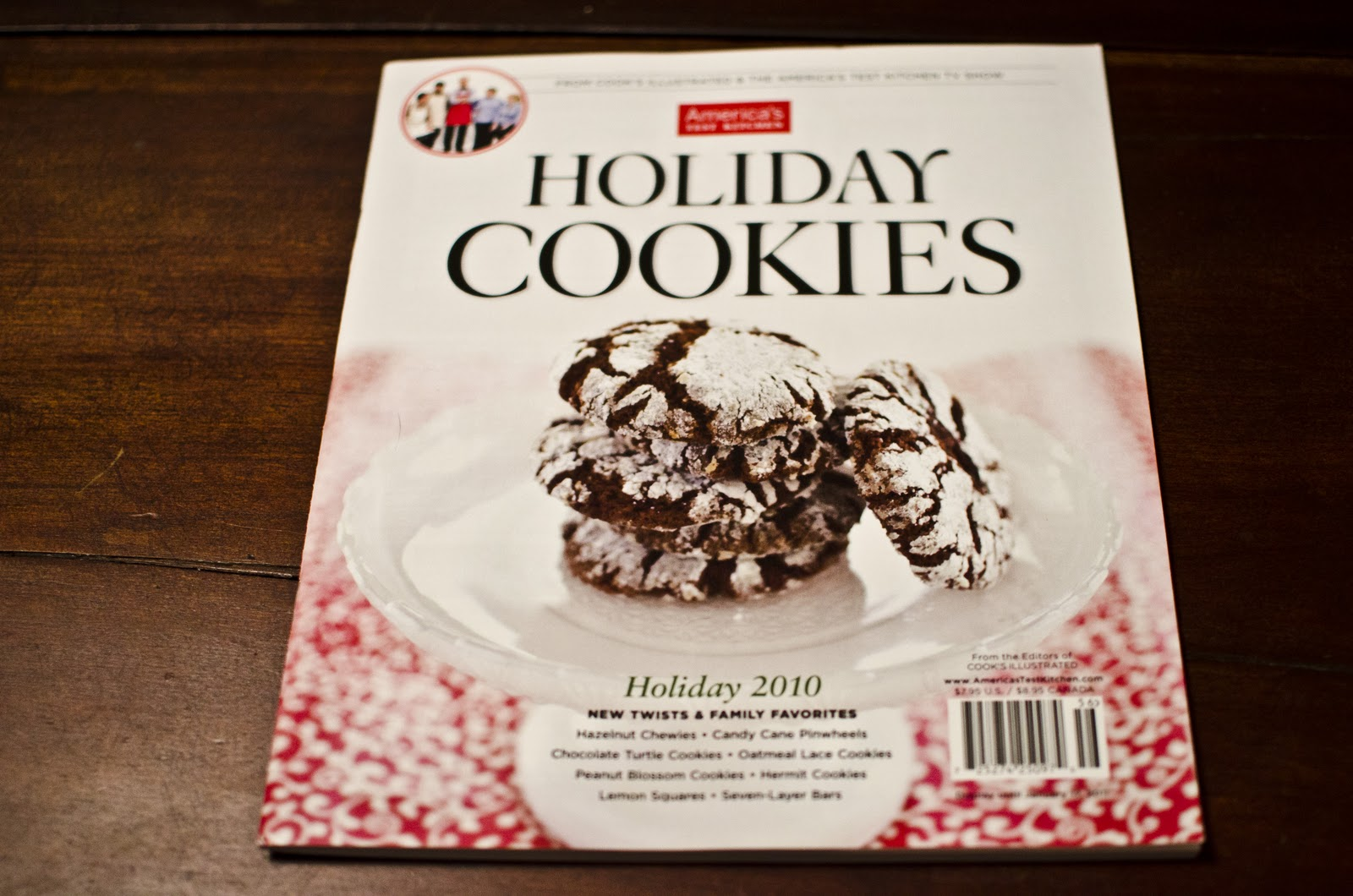2010 Holiday Cookies Issue from America's Test Kitchen in Brookline