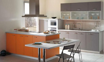 Decora interiores y mas decoraci n de cocinas peque as y - Cocinas funcionales y modernas ...