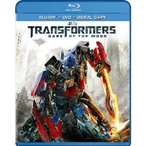 Transformers: Dark of the Moon Blu-ray/DVD release
