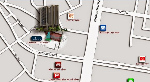 Vị trí và liên kết vùng chung cư 99 Trần Bình