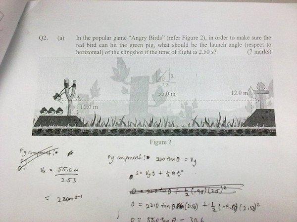 Gambar Angry Birds Online Game Exam Fizik