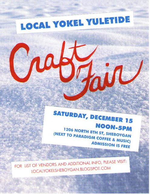Sheboygan local yokel craft fair poster