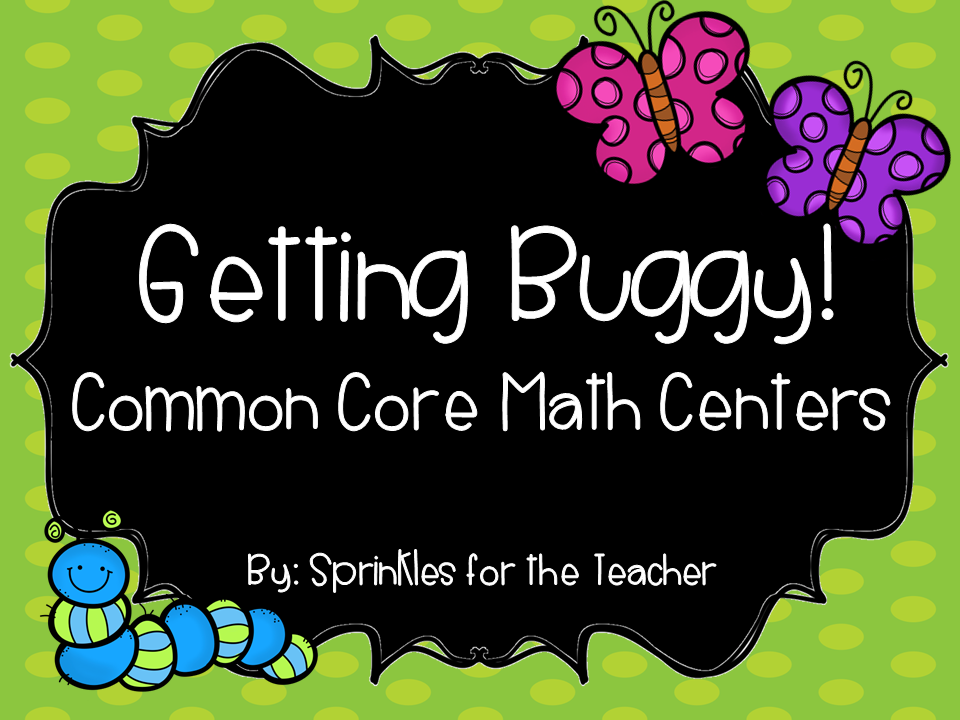 http://www.teacherspayteachers.com/Product/Getting-Buggy-Math-Centers-1143146