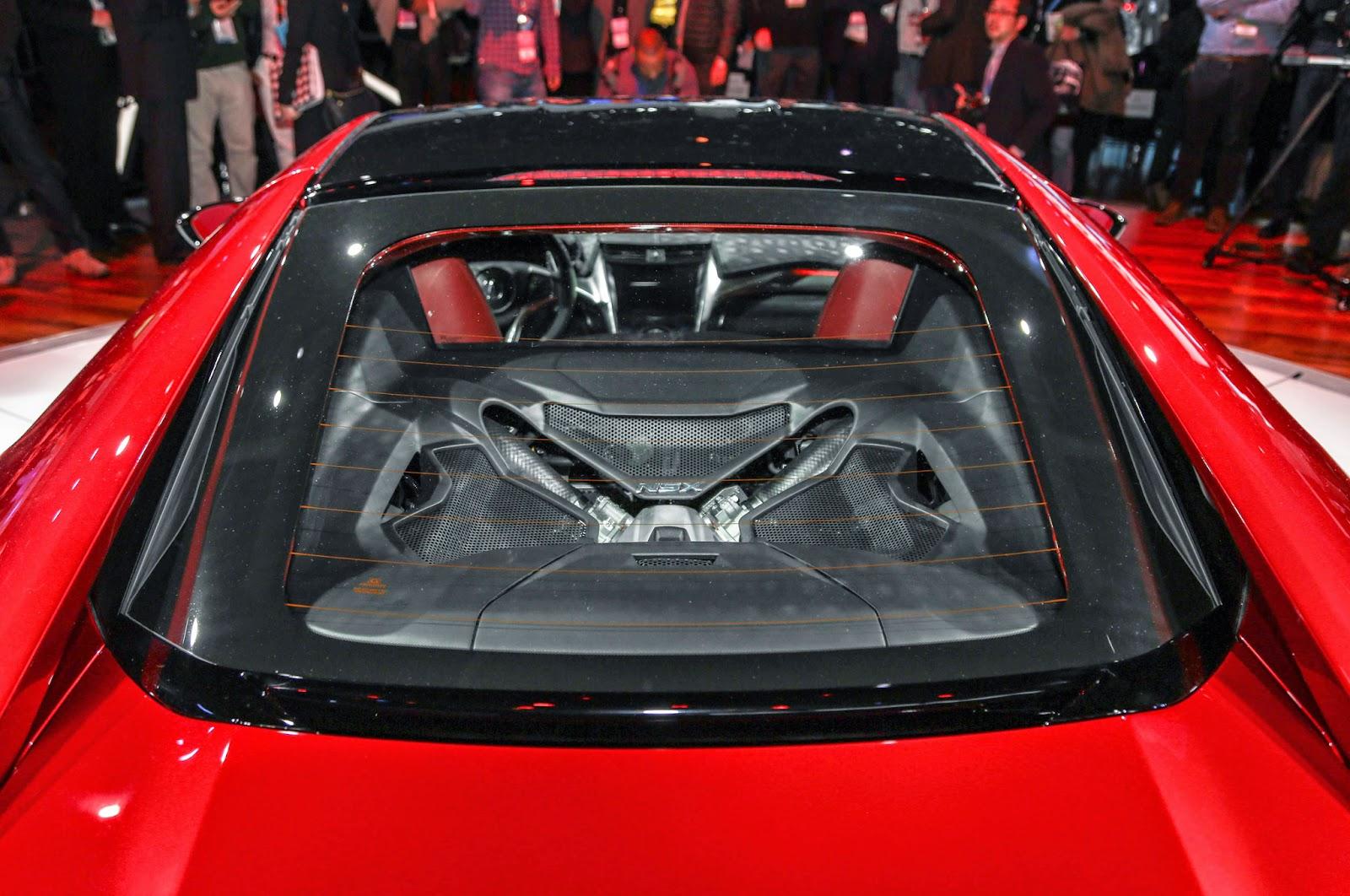 2016 Acura NSX Horsepower