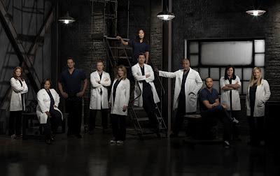 grey's anatomy cast season 9 promotional photo