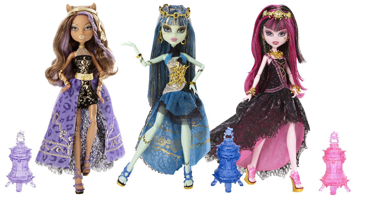 Monster High: 13 Deseos (13 Wishes) y Laboratorio