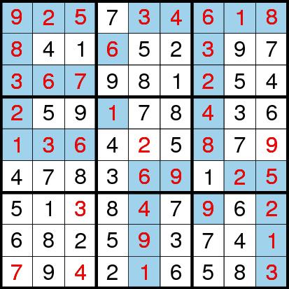 Classic Sudoku (Fun With Sudoku #20) Solution