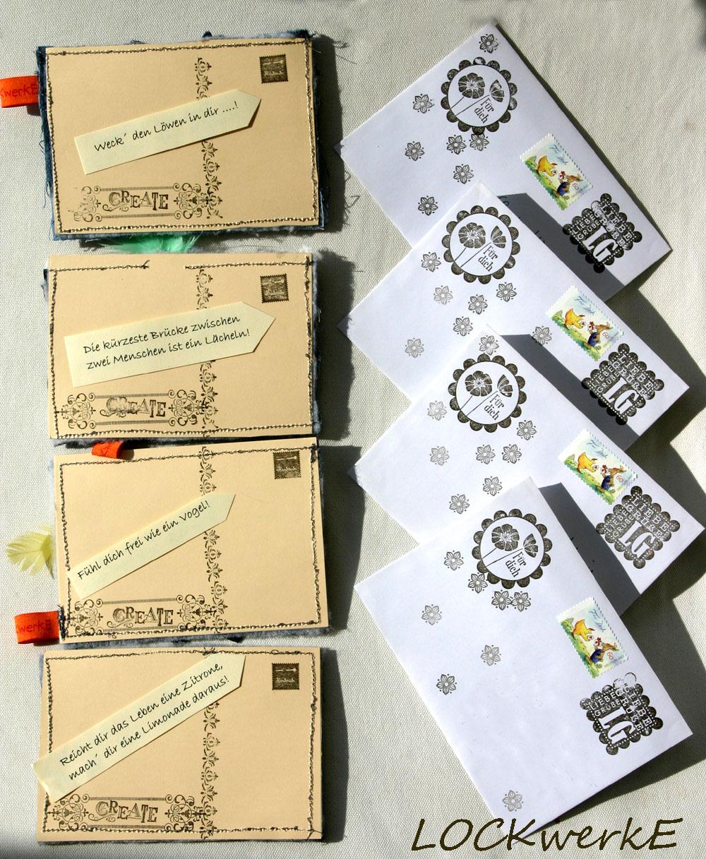 LOCKwerkE Stoffkartentausch ~ Nähmaschine Hakt