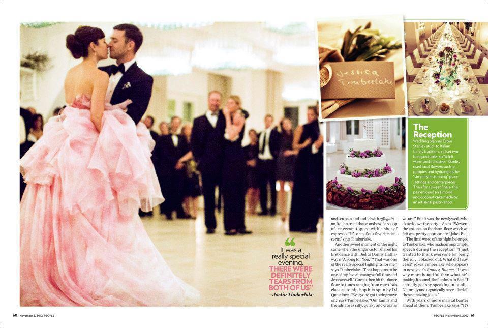 Castle Manor: Wedding Of The Week: Justin Timberlake