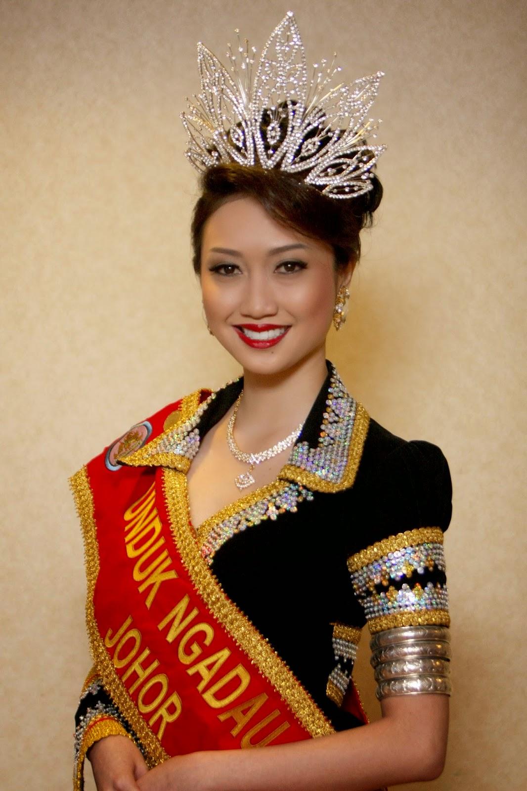 Sabah Beauty Pageant Unduk Ngadau 2014