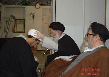 التعميم على يد أستاذي سماحة المرجع الكبير آية الله العظمى السيد موسى الشبيري الزنجاني (دام ظله)